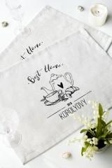 Набор салфеток с Вашим текстом «Уютный дом»