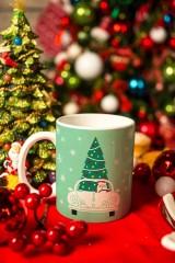 Кружка Дед Мороз за рулём
