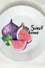Тарелка декоративная Инжир