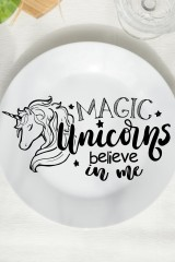 Тарелка декоративная Unicorn