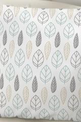 Подушка декоративная Листья