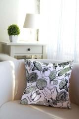 Подушка декоративная «Азбука вегана»