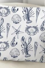 Подушка декоративная Морские мотивы