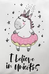 Подушка декоративная I believe in unicorns