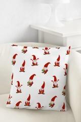 Подушка декоративная Санта-гномики