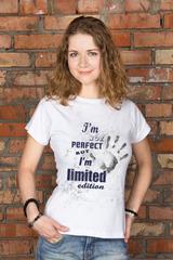 Футболка женская с вашим текстом Limited