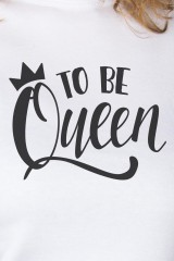 Футболка женская To be queen