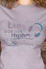 Футболка женская с вашим текстом Got rhythm