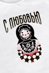 Футболка женская Из России с любовью