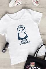 Футболка женская Love pandas