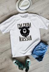 Футболка мужская I'm from Russia