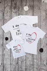 Боди для малыша с вашим текстом With love