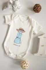 Боди для малыша с вашим текстом Модница