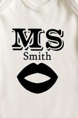 Боди для малыша с вашим текстом Mr & Mrs Smith