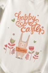 Боди для малыша с вашим текстом Happy Easter