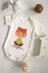 Боди для малыша с вашим текстом «Маленький модник»