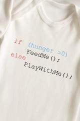 Боди для малыша с вашим текстом Простая логика