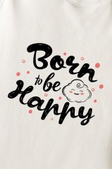 Боди для малыша Born to be happy