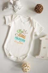 Боди для малыша с вашим текстом «Маленькая принцесса»