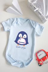 Боди для малыша с вашим текстом «Малыш пингвин»