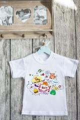 Футболка детская с вашим текстом Детский сад
