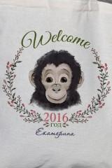 Сумка с Вашим текстом Год обезьяны