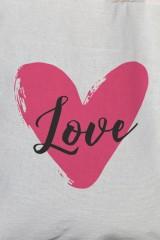 Сумка С надписью Love