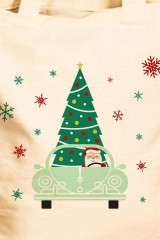 Сумка Дед Мороз за рулём