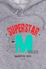 Толстовка  детская с Вашим текстом SuperStar