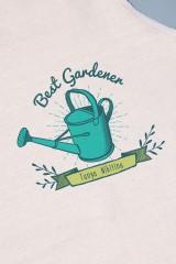 Фартук кухонный с нанесением текста Best Gardener