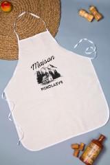Фартук кухонный с нанесением текста Maison