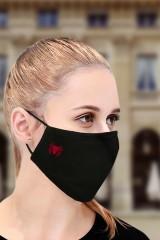 Маска защитная для лица с вышивкой Паук