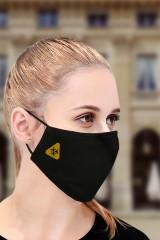 Маска защитная для лица с вышивкой Biohazard