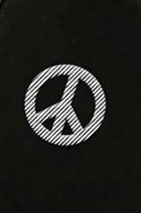 Маска защитная для лица с вышивкой Peace