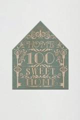 Табличка на дверь с вашим текстом Кружевной домик