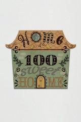 Табличка на дверь с вашим текстом Веселый домик