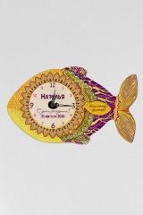 Часы настенные с Вашим именем Золотая рыбка