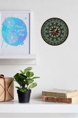 Часы настенные с Вашим именем «Точечная роспись»