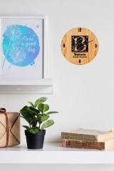 Часы настенные с Вашим именем Фамильный герб