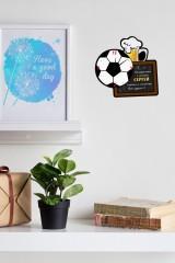 Часы настенные с Вашим именем Футбол