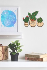 Часы настенные с Вашим именем Растения