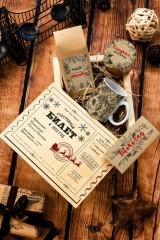 Набор сладостей с Вашим текстом Новогодний билет