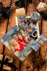 Набор сладостей с Вашим текстом Новогодние огоньки