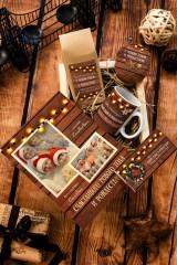 Набор сладостей с Вашим текстом Теплые пожелания