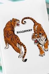 Ежедневник с Вашим текстом Тигры