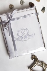 Набор салфеток с именной вышивкой (2шт) Фамильный герб