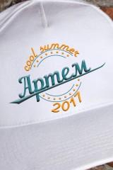 Бейсболка с именной вышивкой Cool summer