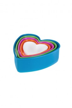 Набор формочек для печенья «Сердечки»