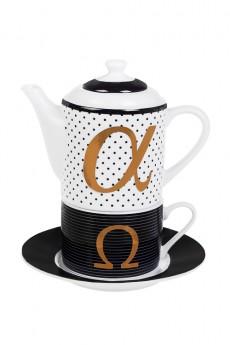 Набор чайный «Альфа и Омега»