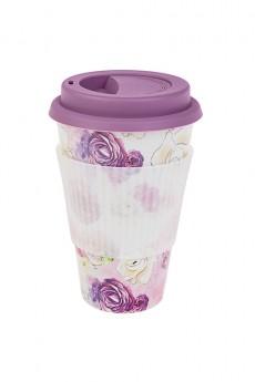 Стакан для чая/кофе «Волшебные цветы»